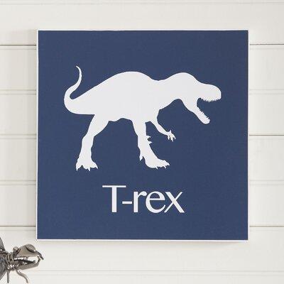 Birch Lane Kids T-Rex Prehistoric Pals Wall Art