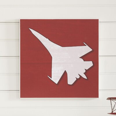 Fighter Jet Take Flight Wall Art