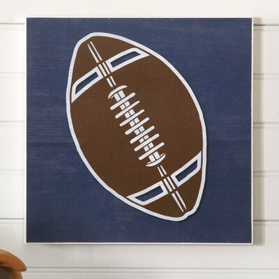 Football Sports Center Wall Art
