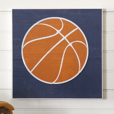 Basketball Sports Center Wall Art