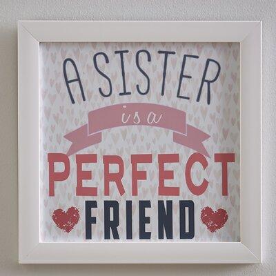 Best Sisters Forever Framed Print