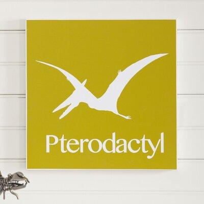 Pterodactyl Prehistoric Pals Wall Art