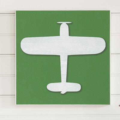 Biplane Take Flight Wall Art