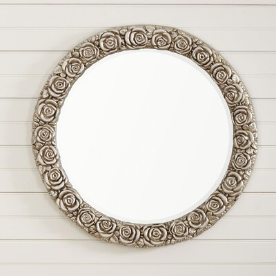 Rosy Outlook Mirror Finish: Antique Silver Leaf