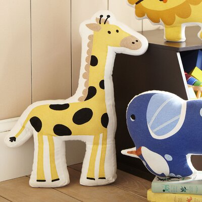 Giraffe Ark Pillow