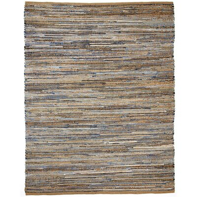 Maricopa Hand-Woven Beige Area Rug Rug Size: 4 x 6