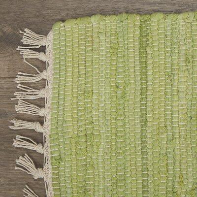 Static Green Rug