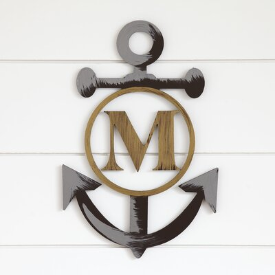 Custom Life Anchor Wall Decor