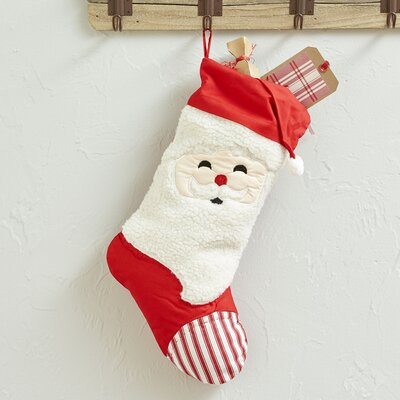 Jolly St. Nick Stocking