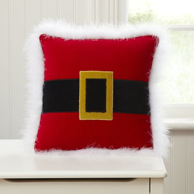 Iconic Santa Belt Throw Pillow