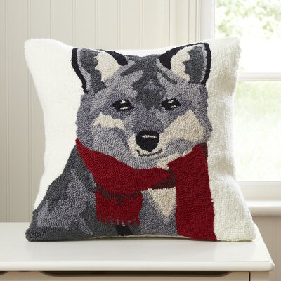 Frankie Fox Hooked Pillow