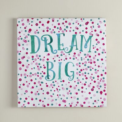 Dream Big Canvas
