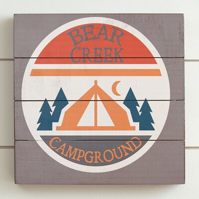 Camp Bear Creek Wall Art