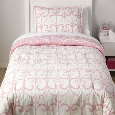 Keys to the Kingdom Reversible Comforter Set Size: Full