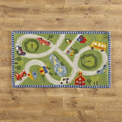 Right Route Rug Rug Size: Rectangle 28 x 48