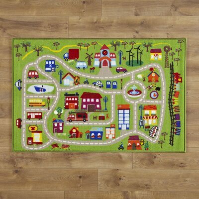 Our Town Rug Rug Size: 3'3 x 4'10