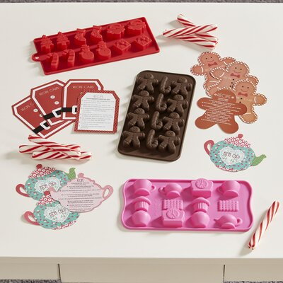 Gingerbread Man Chocolatier Kit