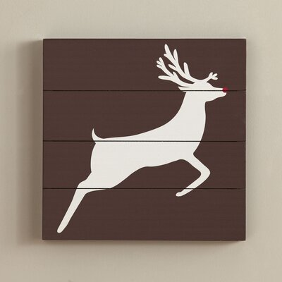 Wood Reindeer Art