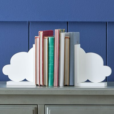 Cool Cumulus Bookends