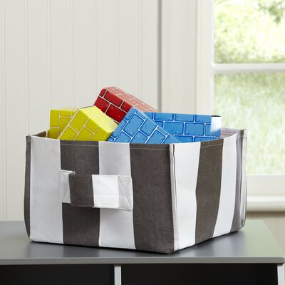 Square Storage Bin Color: Shale, Size: 12'' H x 12