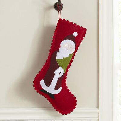 Gracious Santa Felt Stocking