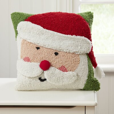 Santa Huggable Hooked Pillow