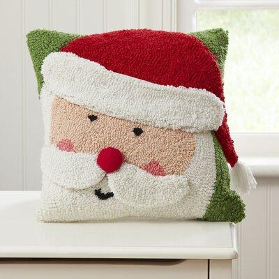 Birch Lane Kids™ Santa Huggable Hooked Pillow