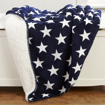 Stars & Snuggles Sherpa Throw