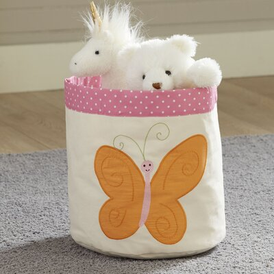 Butterfly Canvas Bin