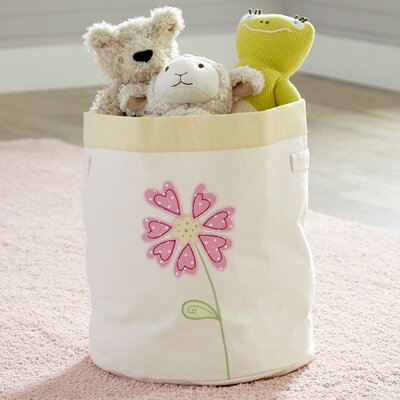 Flower Toy Storage Bin