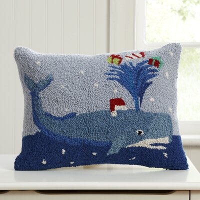 Santa's Helper Hooked Pillow