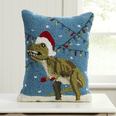 Epoch Christmas Hooked Pillow