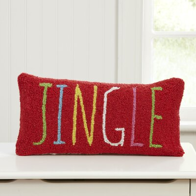 Jingle Hooked Lumbar Pillow