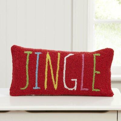 Birch Lane Kids™ Jingle Hooked Lumbar Pillow