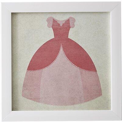 Birch Lane Kids Gown Princess in Pink Framed Print