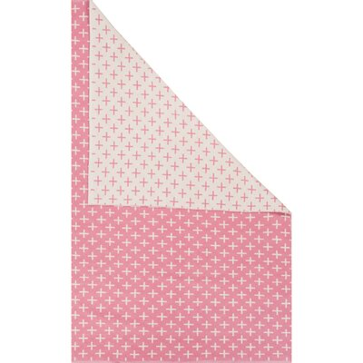 Graphic Star Coral Rug Size: 2 x 3