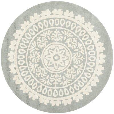 Kaleidoscope Area Rug Rug Size: Round 5