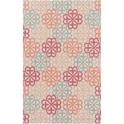 Colorful Clovers Rug Rug Size: 5' x 7'6