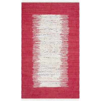 Static Red Rug Rug Size: 3 x 5