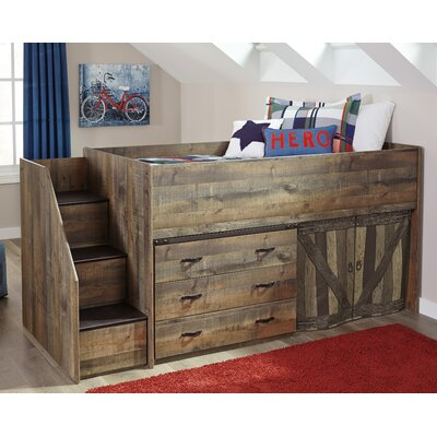 Trinell Low Loft Bed