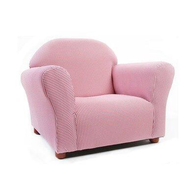 Birch Lane Kids™ Roundy Gingham Kid's Club Chair