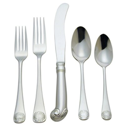Royal Shell Flatware Collection-royal Shell Infant Feed Spoon