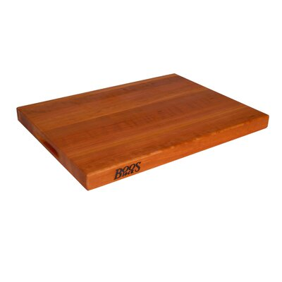 Boosblock Commercial 1.5 Cherry Cutting Board Size-18 X 12