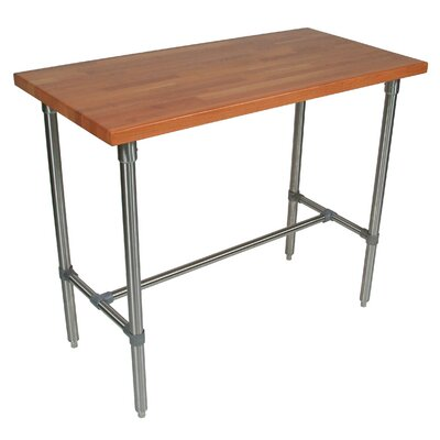 Cucina Americana Counter Height Dining Table Finish: Cherry, Size: 36 H x 48 W x 30 D