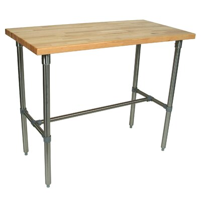 Cucina Americana Counter Height Bar Table Finish: Maple, Size: 40