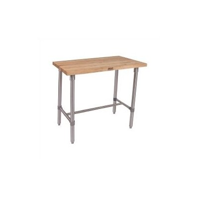 Cucina Americana Counter Height Dining Table Finish: Maple, Size: 36