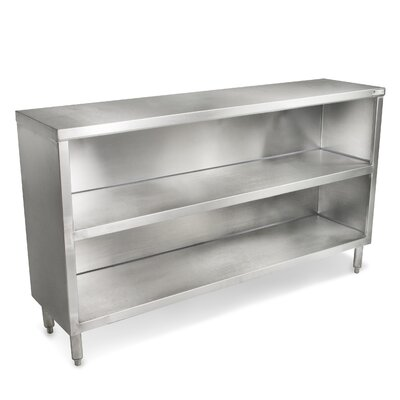 Economy Urban Industrial Buffet Table Size: 60 W