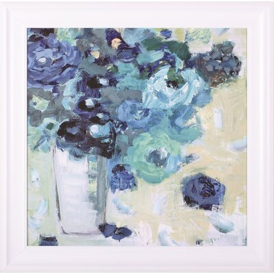 Harmony In Blue Jennifer Harwood Framed Painting Print