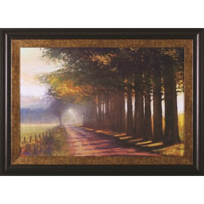 Sunset Highway by Amanda Houston Framed Painting Print R17889
