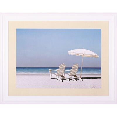 Beach Day By Zhenhuan Lu Framed Photographic Print image